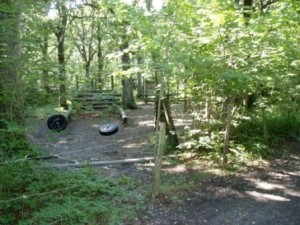 Adventure Course / Assault Course at the Woodingdean campsite